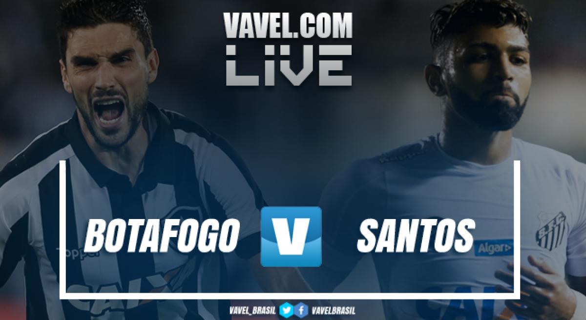 Resultado Botafogo x Santos pelo Campeonato Brasileiro 2018 (0-0)