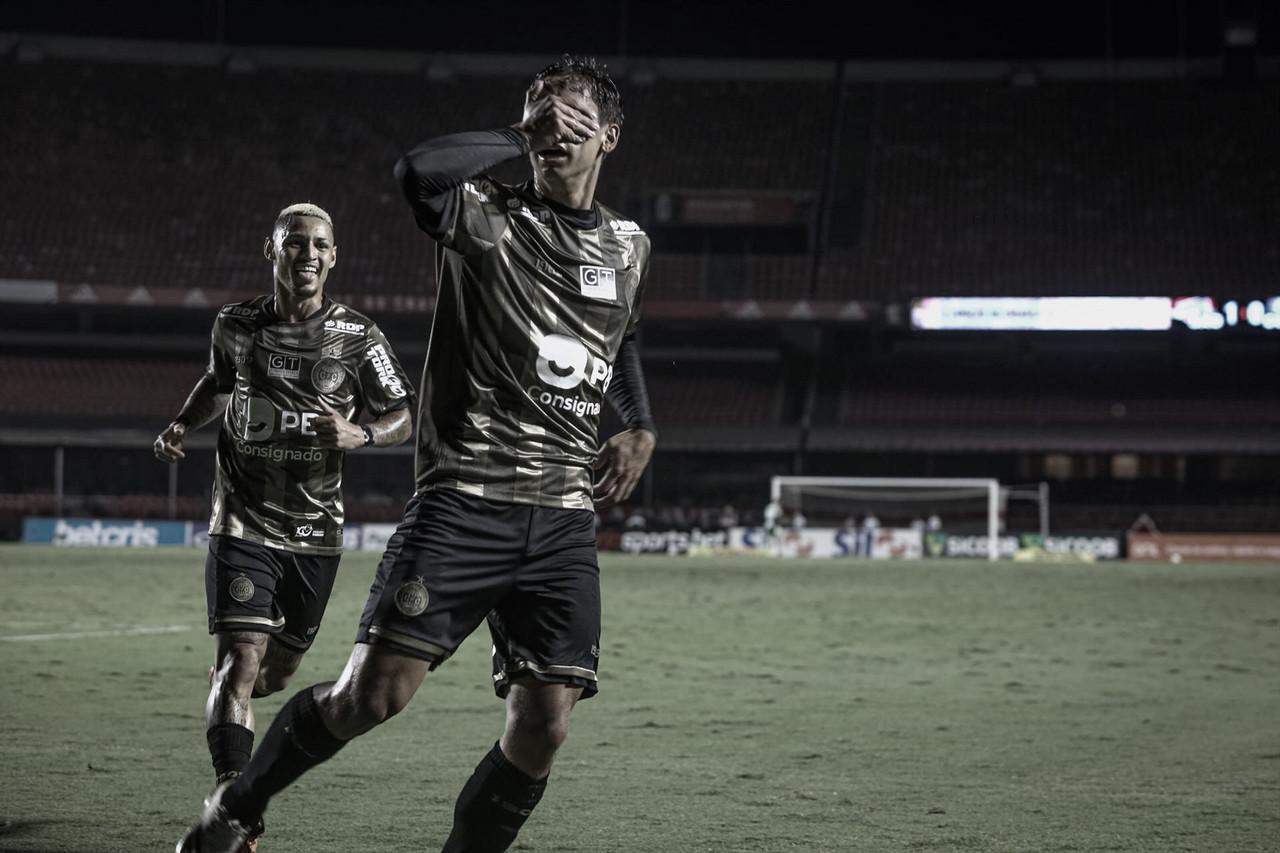 No empate com São Paulo, Sarrafiose marca seu primeiro gol com a camisa do Coritiba