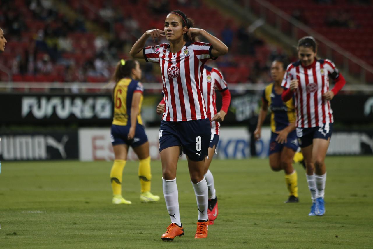 Chivas Femenil se estrena en el Apertura 2021 con goleada sobre Atlético de San Luis