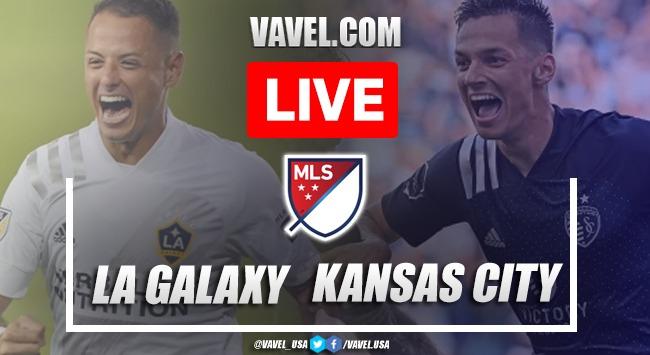 Goals and highlights:LA Galaxy 0-2 Sporting Kansas City in 2021 MLS