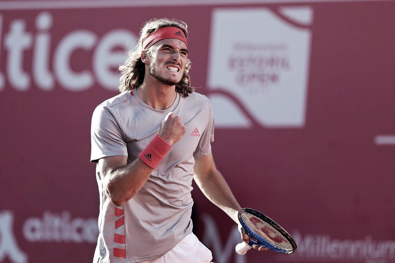 Tsitsipas vence Goffin e está na final do ATP 250 de Estoril