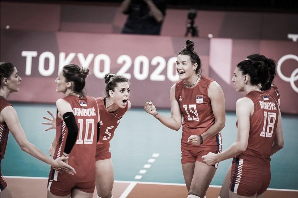 Pontos e melhores momentos deSérvia 3x0 Itália no vôlei feminino pelas Olimpíadas de Tóquio 2020