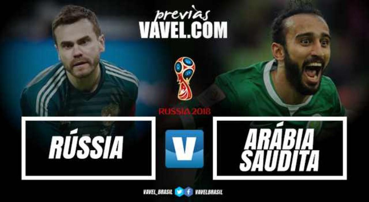 Vodca x Petróleo: Rússia e Arábia Saudita dão pontapé inicial à Copa do Mundo