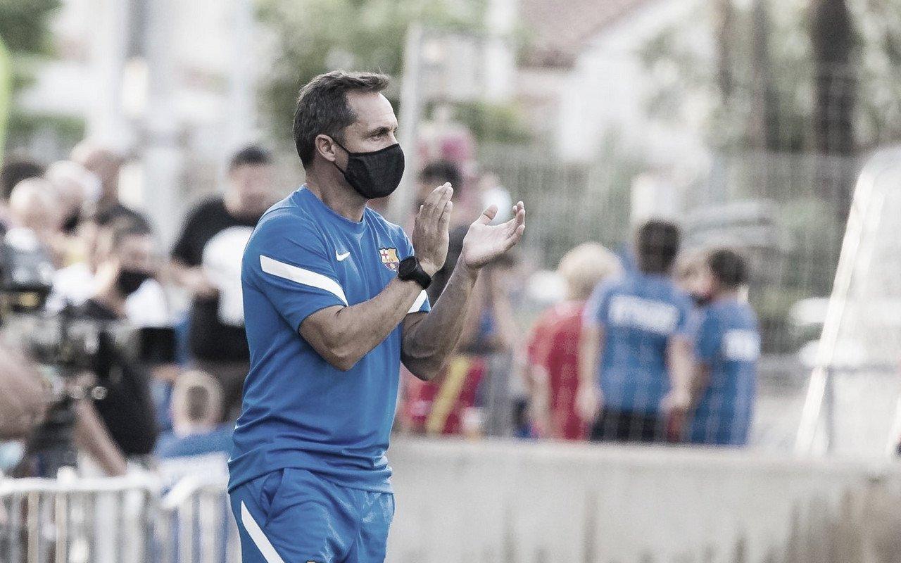 """Sergi Barjuán: """"La valoración del equipo es muy positiva"""""""