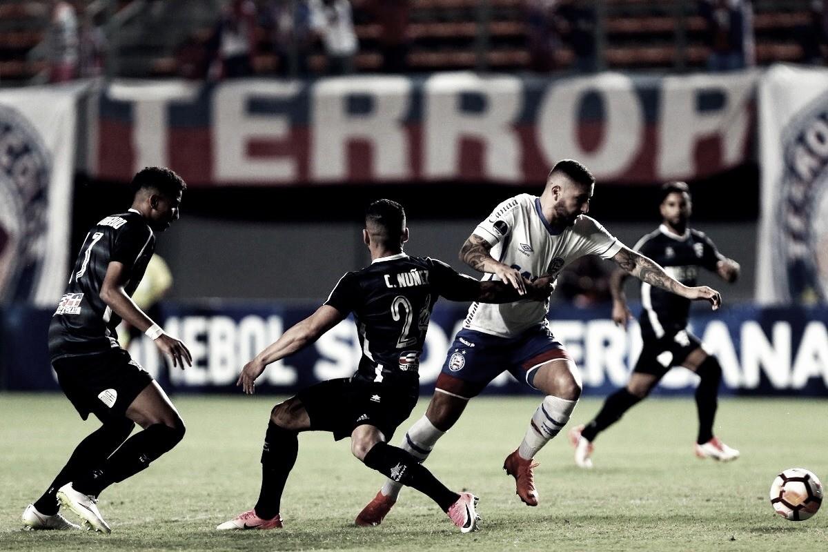 Bahia desperta no segundo tempo e vence o Cerro do Uruguai