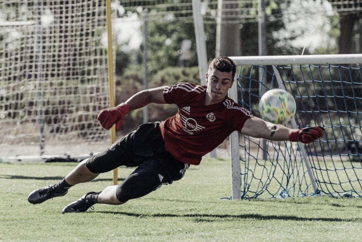 Maxi San José durante su etapa en las categorías inferiores del Real Valladolid. | Foto: @MaxiSanJose1