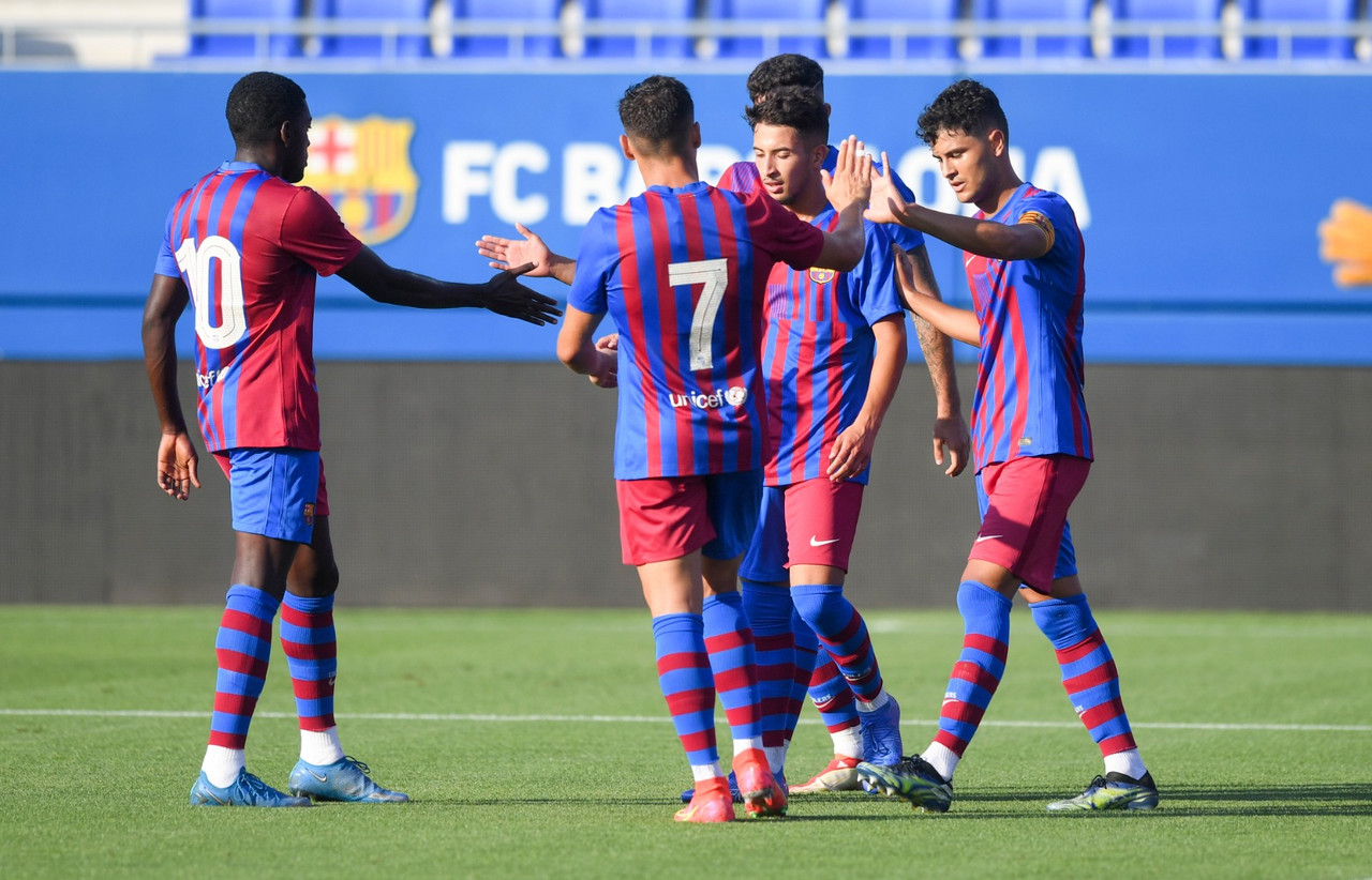 Goleada del Barça B sin Ilaix Moriba