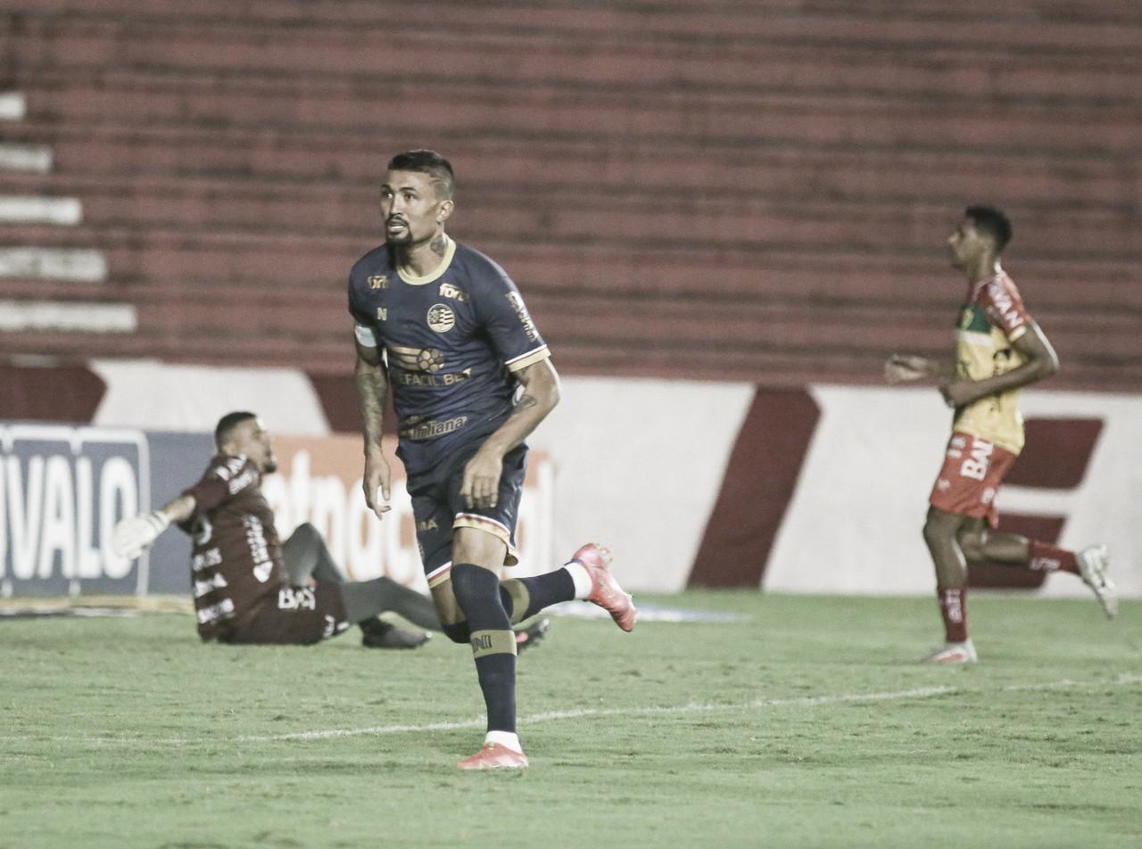 Em jogo pegado, líder Naútico empata com Brusque em Recife pela Série B
