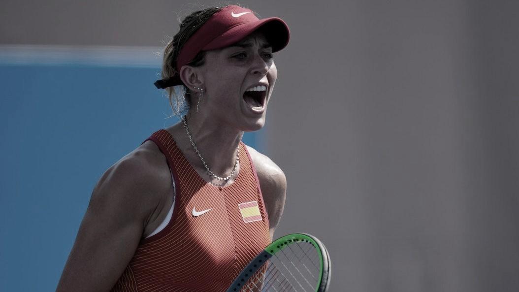 Muguruza, Sorribes y Badosa pasan, KO para Carla Suárez