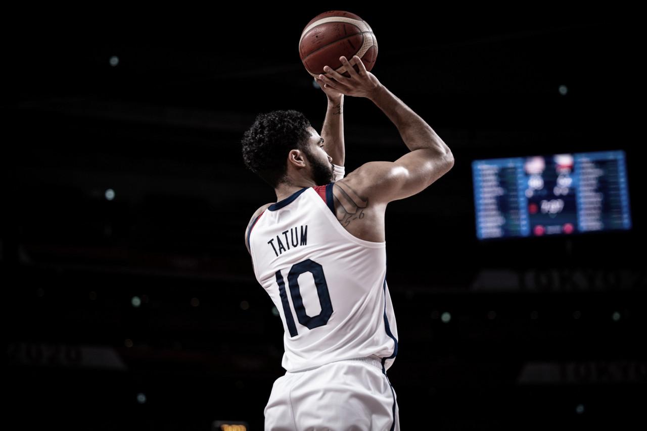Tatum y Durant se imponen para aupar al Team USA