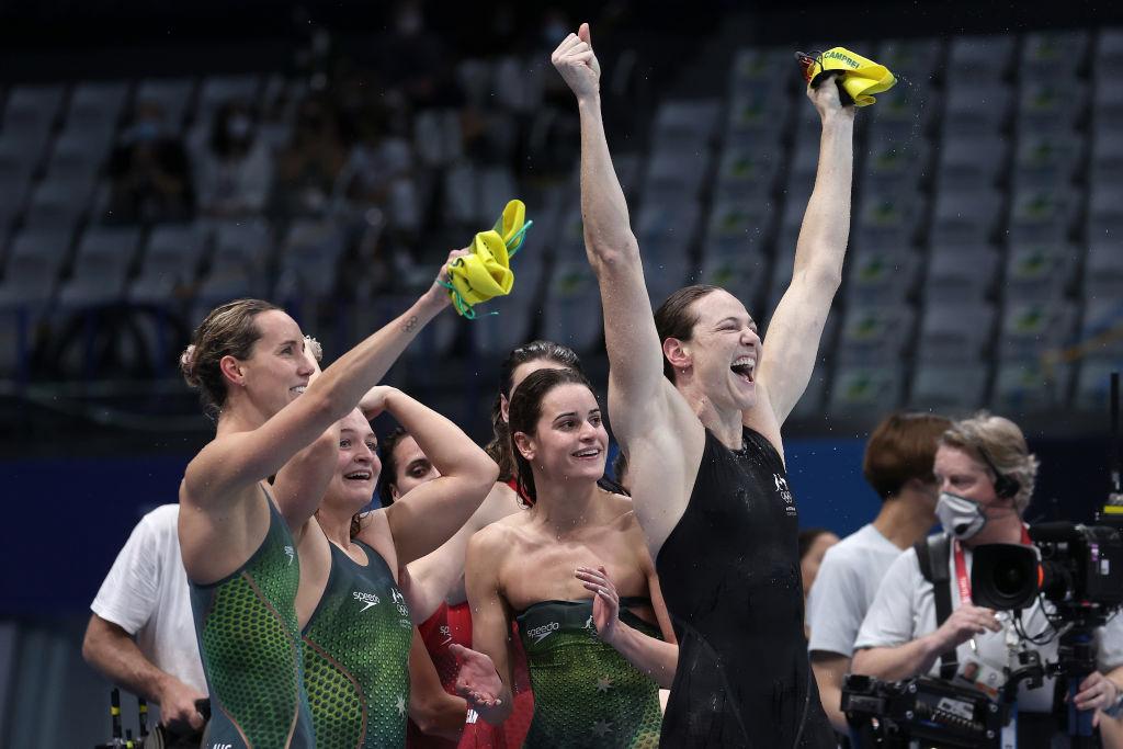 Dressel y McKeon se bañan en oro en la última jornada olímpica