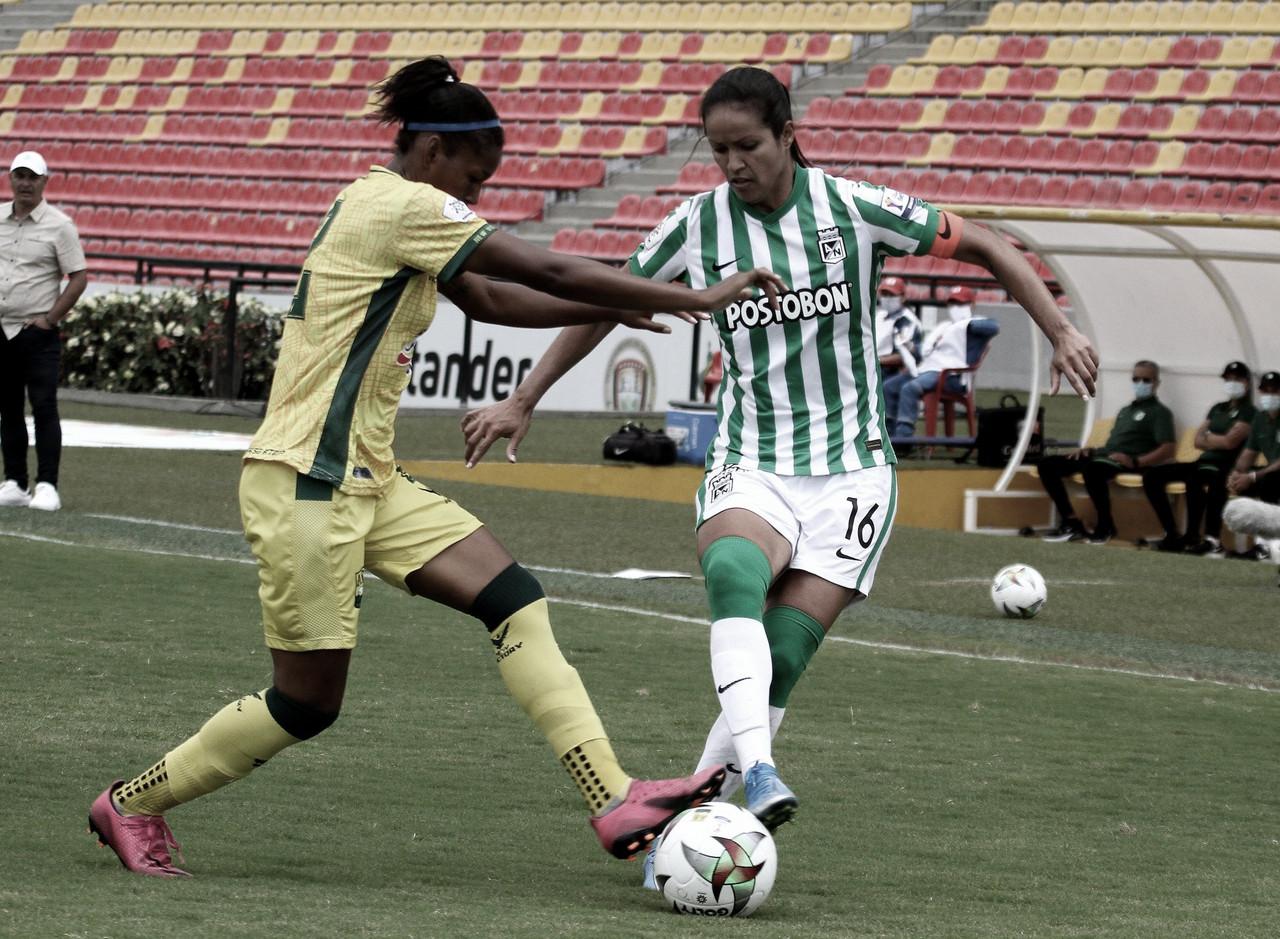 Nacional ganó en su visita al Bucaramanga y escala posiciones en la Liga Femenina