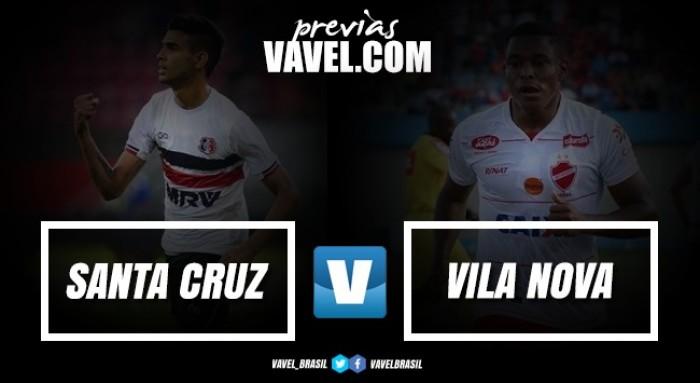 Visando se reaproximar do G-4, Santa Cruz encara surpresa Vila Nova