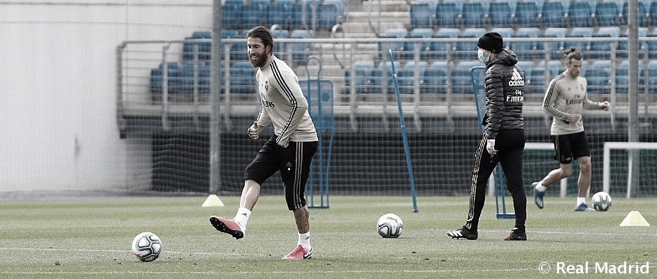 El Real Madrid comienza a prepararse para la Champions
