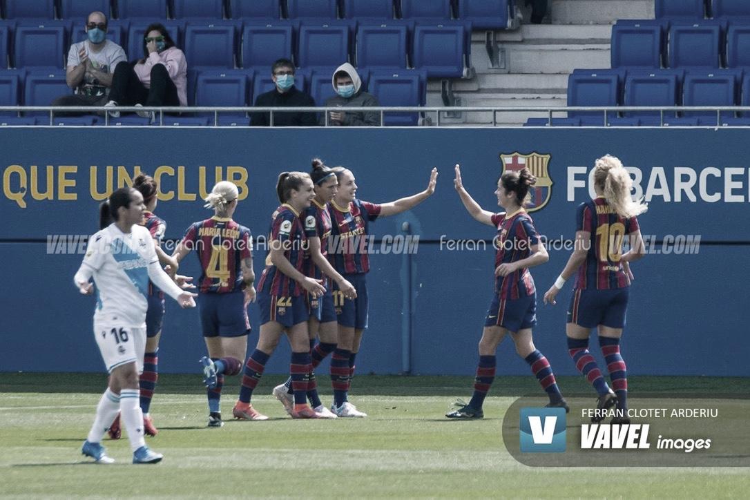 Resumen Barcelona Femení vs Juventus en Trofeo Joan Gamper (6-0)