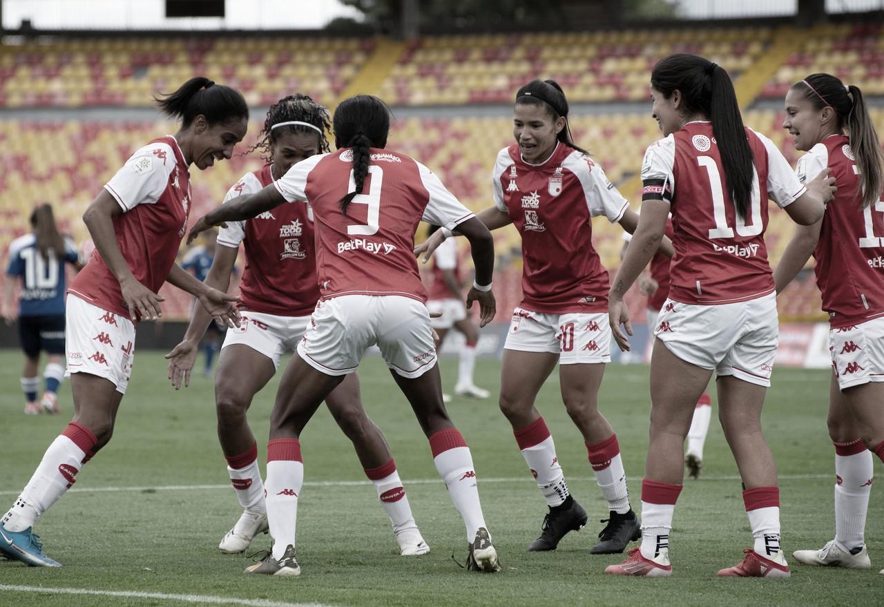 Santa Fe goleó, gustó y clasificó a las semifinales de la Liga BetPlay Femenina