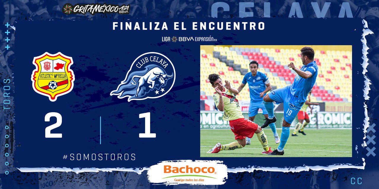 Atlético Morelia logra su primera victoria del torneo frente a Celaya