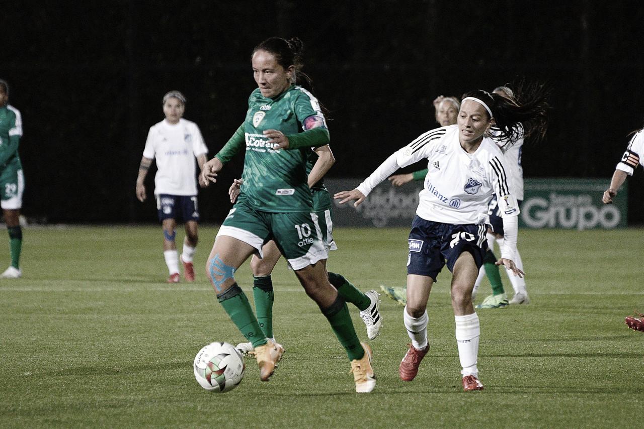 En tablas terminó el partido entre La Equidad y Millonarios Femenino