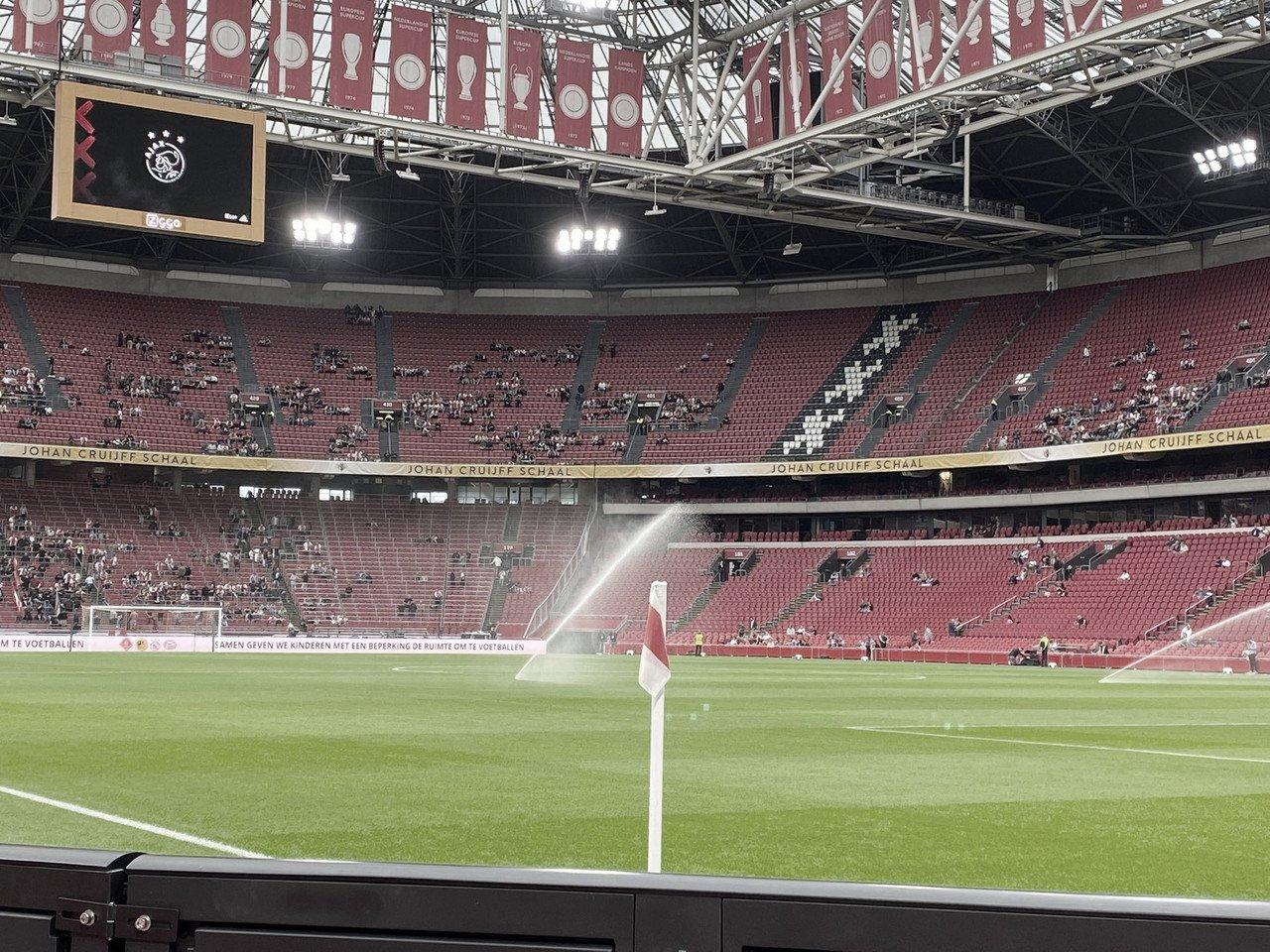 Goals and Highlights Ajax vs NEC Nijmegen (5-0)