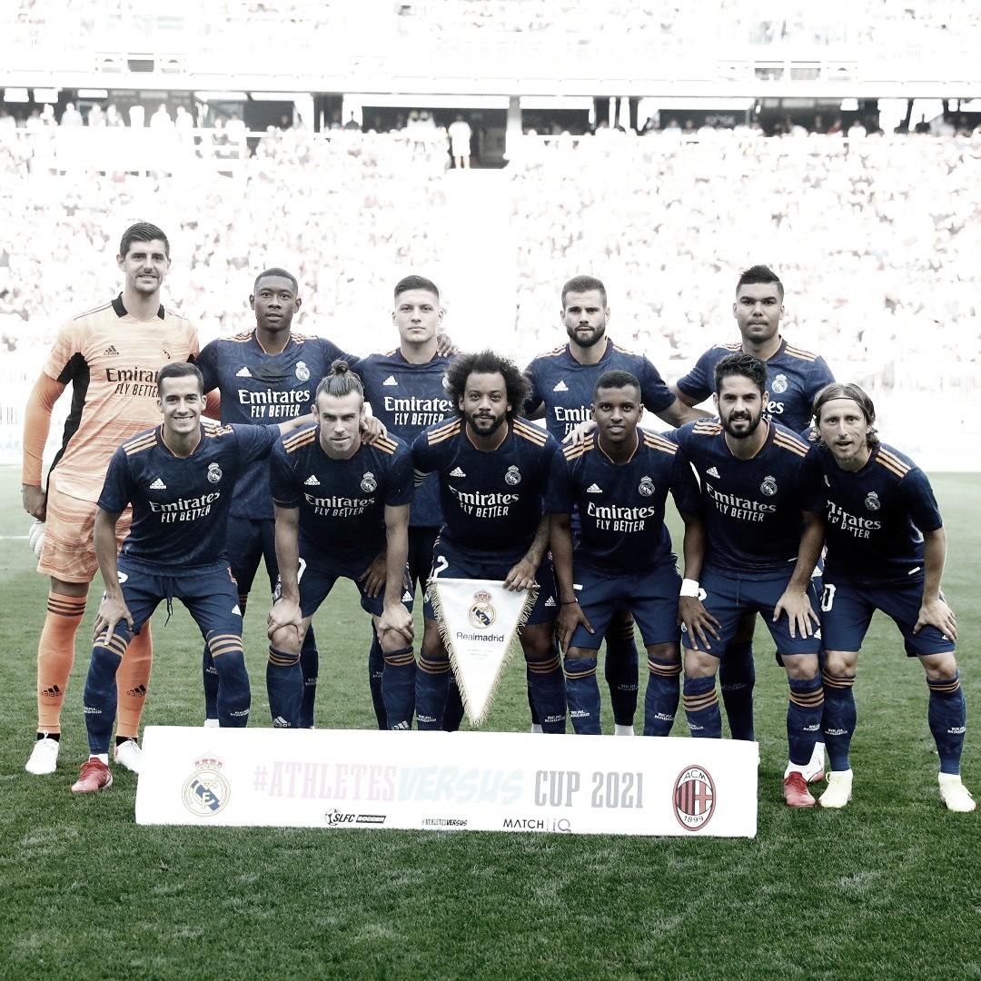 Falta de gol, pero con Bale recuperado