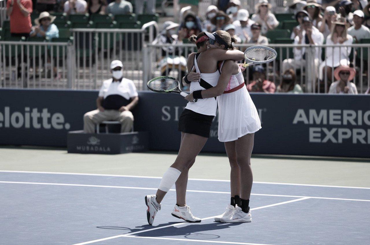 Dabrowski/Stefani perdem para Jurak/Klepac e ficam com vice do WTA 500 de San Jose