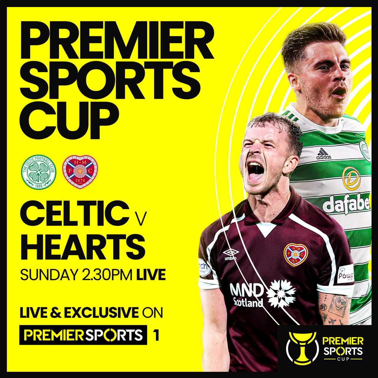 Summary and highlights of  Celtic 3-2 Hearts