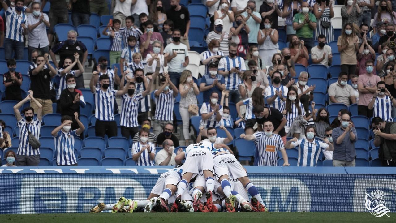 Real Sociedad B - Leganés: puntuaciones de la Real Sociedad B en la jornada 1, de LaLiga Smartbank