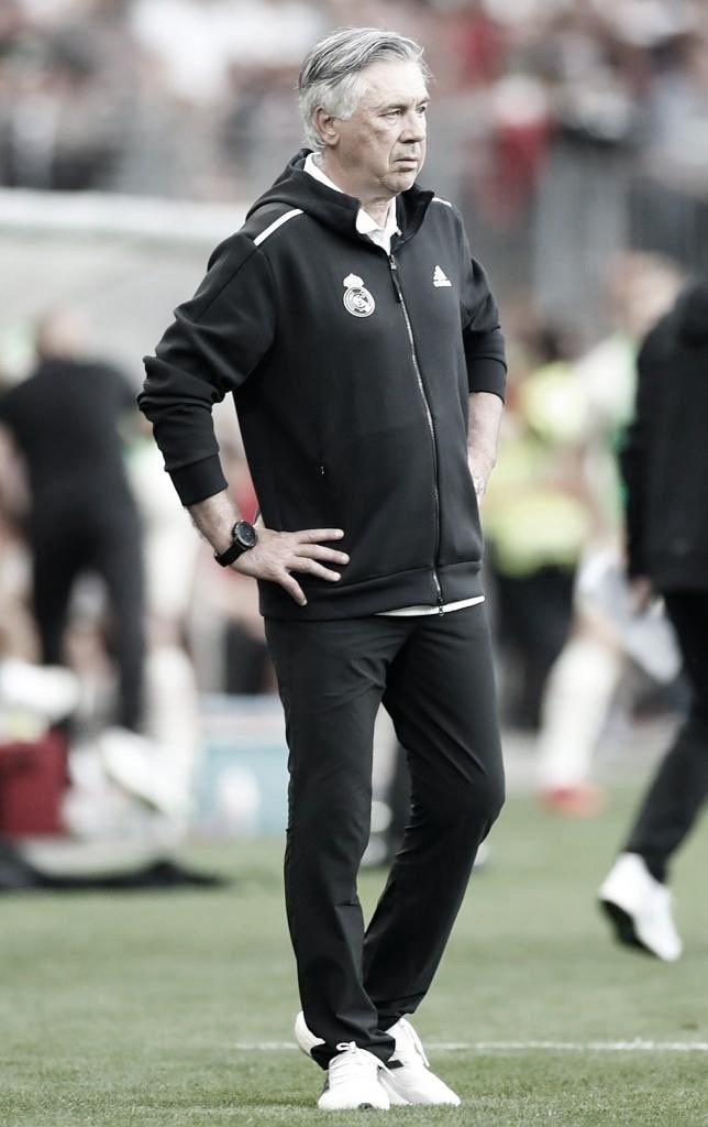 """Ancelotti: """"Mbappé es un gran jugador, pero me centro en los míos"""""""