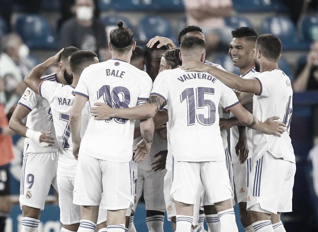 Real Madrid deslancha no segundo tempo e goleira Alavés na estreia do Campeonato Espanhol