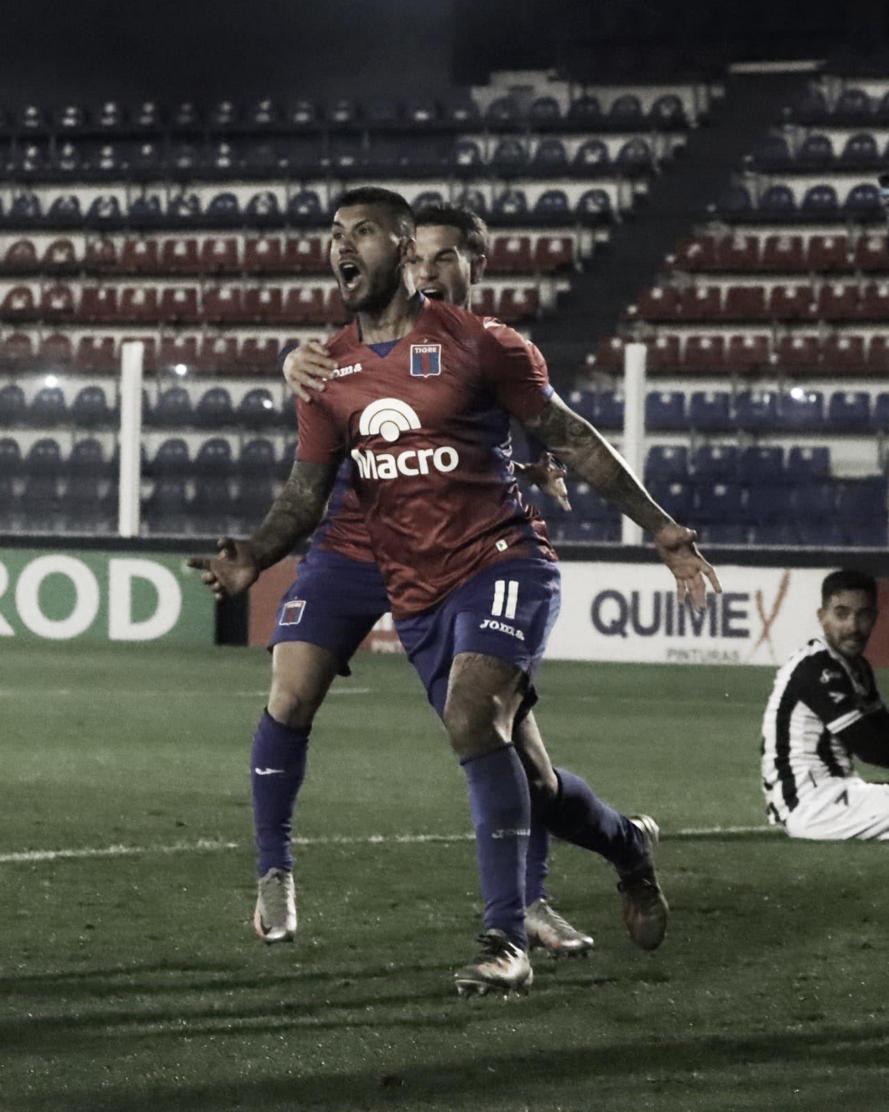 Tigre ganó en Victoria y sigue firme en al lucha por el ascenso