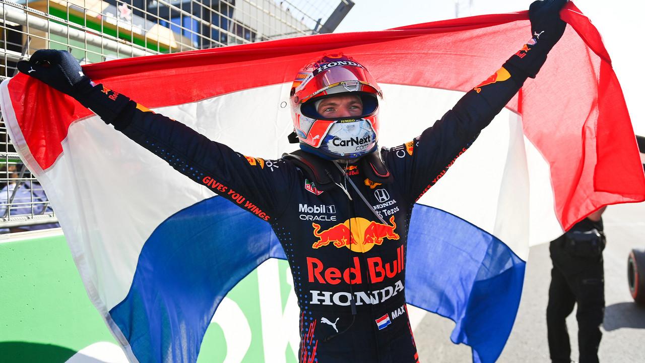 Verstappen dominante: gana y recupera el liderato del mundial; Pérez, gran remontada
