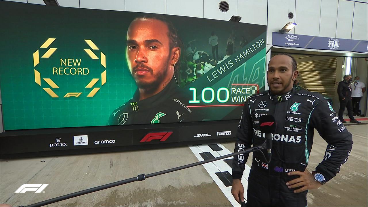 Lewis Hamilton consigue su victoria #100 en fórmula 1 y recupera el liderato del mundial
