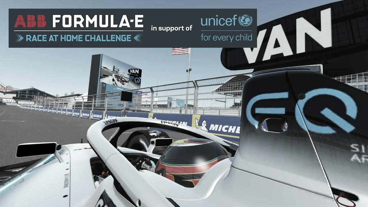 Vandorne faz corrida perfeita, vence em Nova York e é líder do Desafio Virtual da Fórmula E