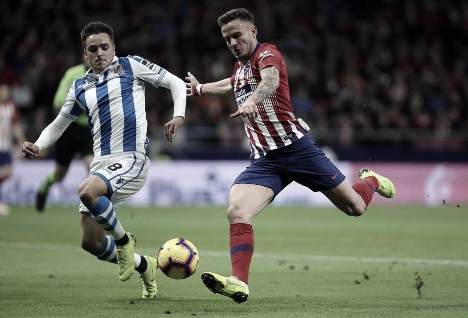 Atlético de Madrid bate Real Sociedad e assume liderança temporária da La Liga