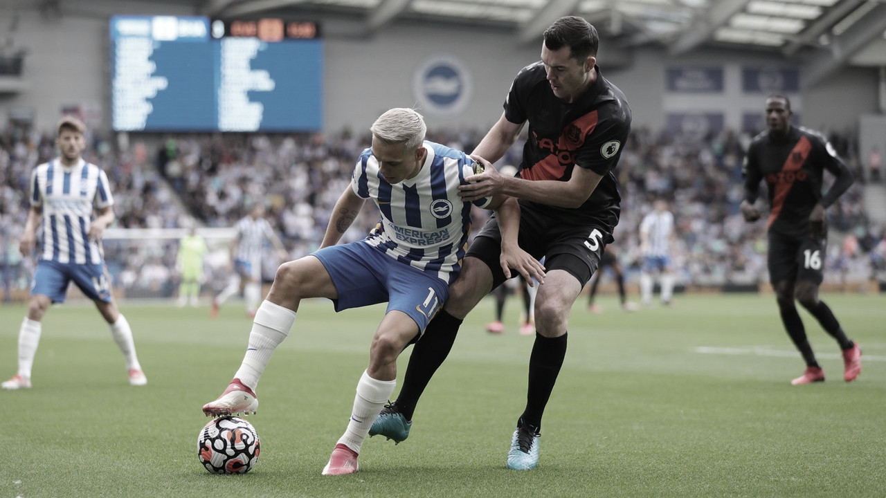Brighton & Hove Albion 0-2 Everton: Bissouma can't do it all himself