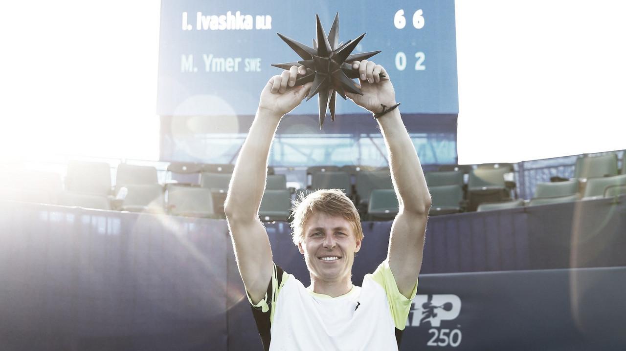 Novo campeão no circuito: Ivashka atropela Ymer e fatura ATP 250 de Winston-Slaem
