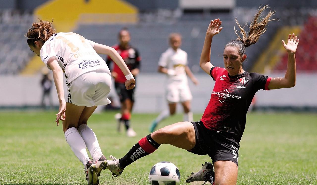 Atlas Femenil iguala sin goles ante Pumas
