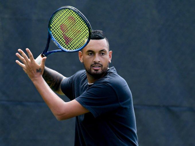 ATP Winston-Salem: Nick Kyrgios withdraws with knee injury