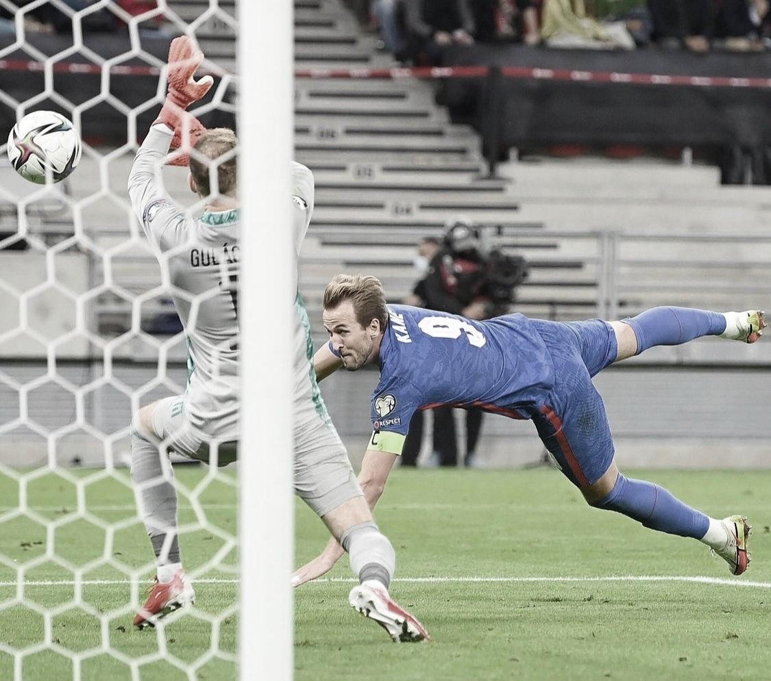 Inglaterra goleia Hungria e segue invicta nas Eliminatórias da Copa do Mundo