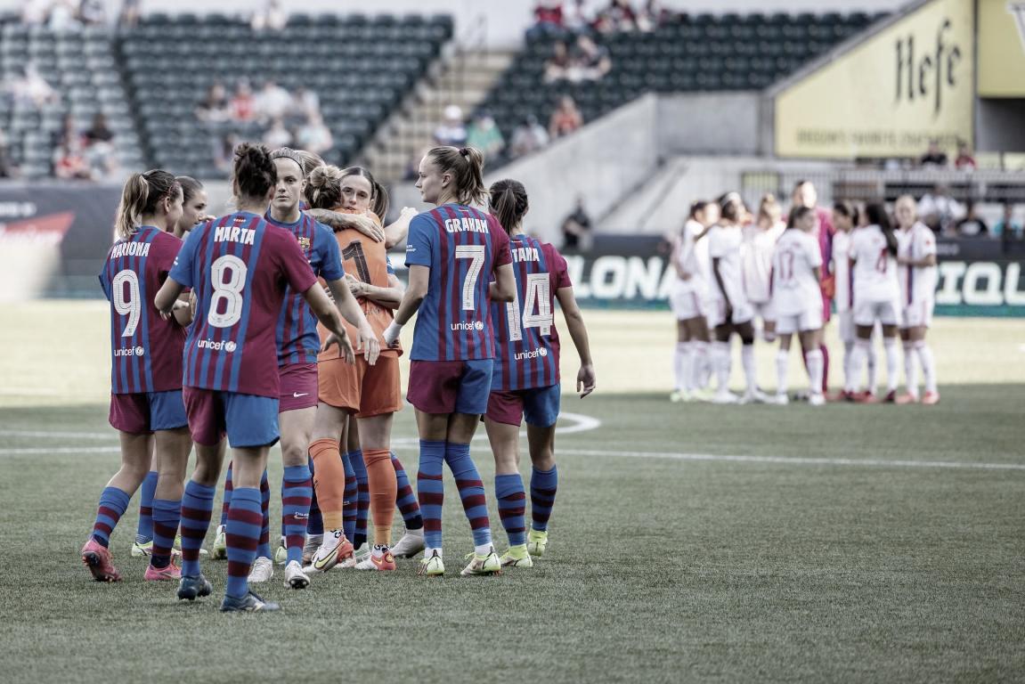 El Olympique de Lyon deja al Barça Femení sin final