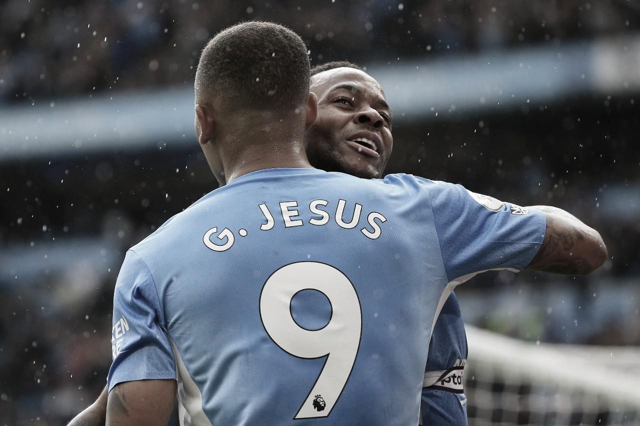 City massacra Norwich em partida decisiva de Gabriel Jesus