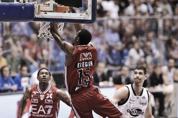 Risultato finale EA7 Milano – Granarolo Bologna 99-72