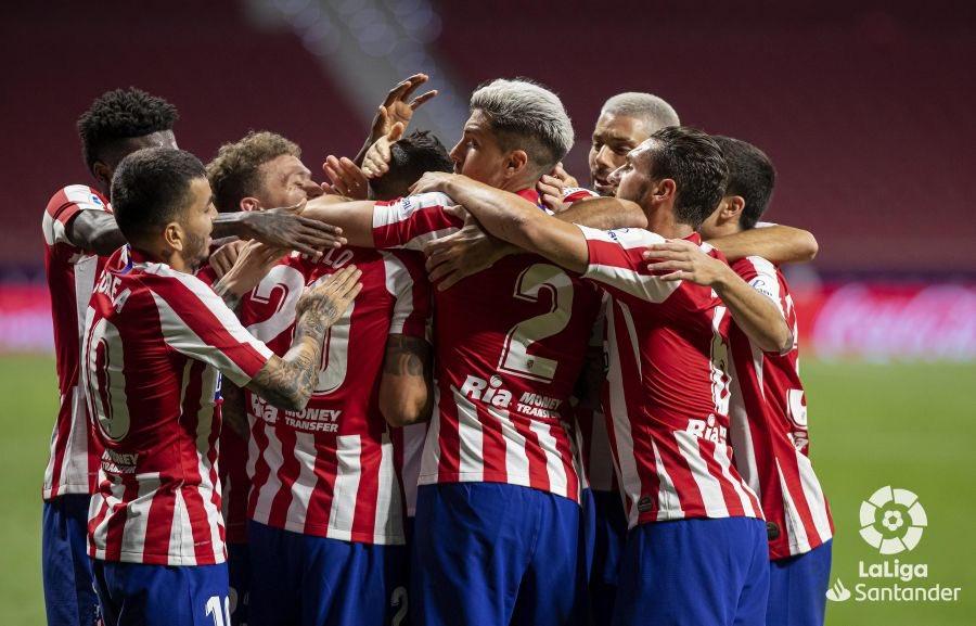 La Liga- L'Atletico vola al terzo posto