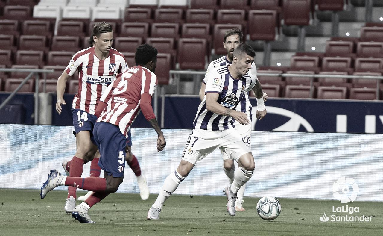 Último encuentro entre ambos equipos. / Twitter: Real Valladolid oficial