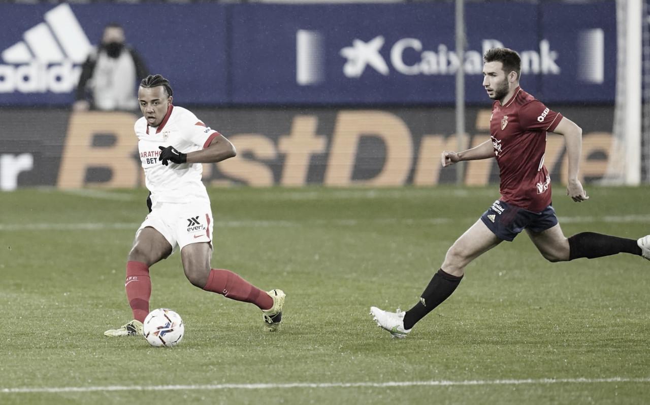 Osasuna - Sevilla; puntuaciones del Sevilla, 24ª Jornada de LaLiga