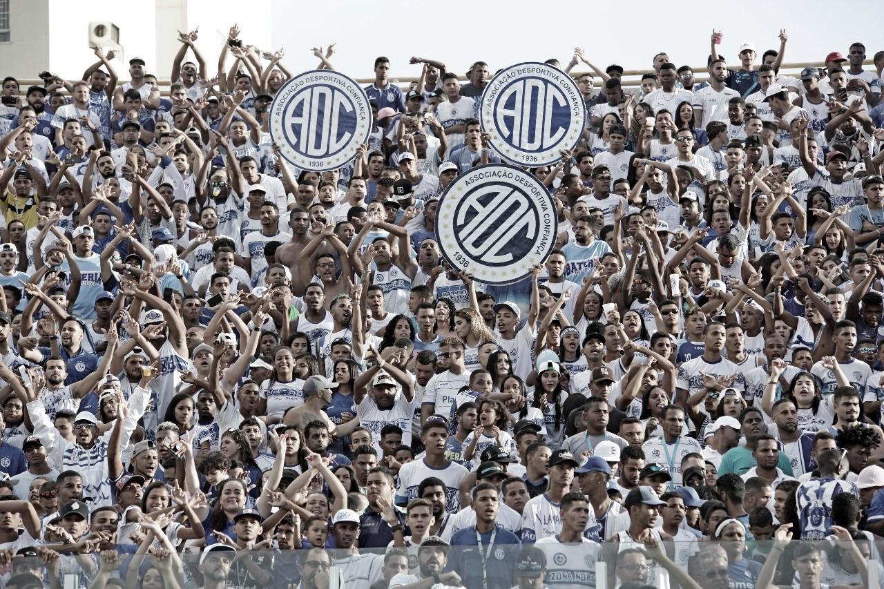 Confiança apresenta liminar no STJD para liberação de torcedores no estádio