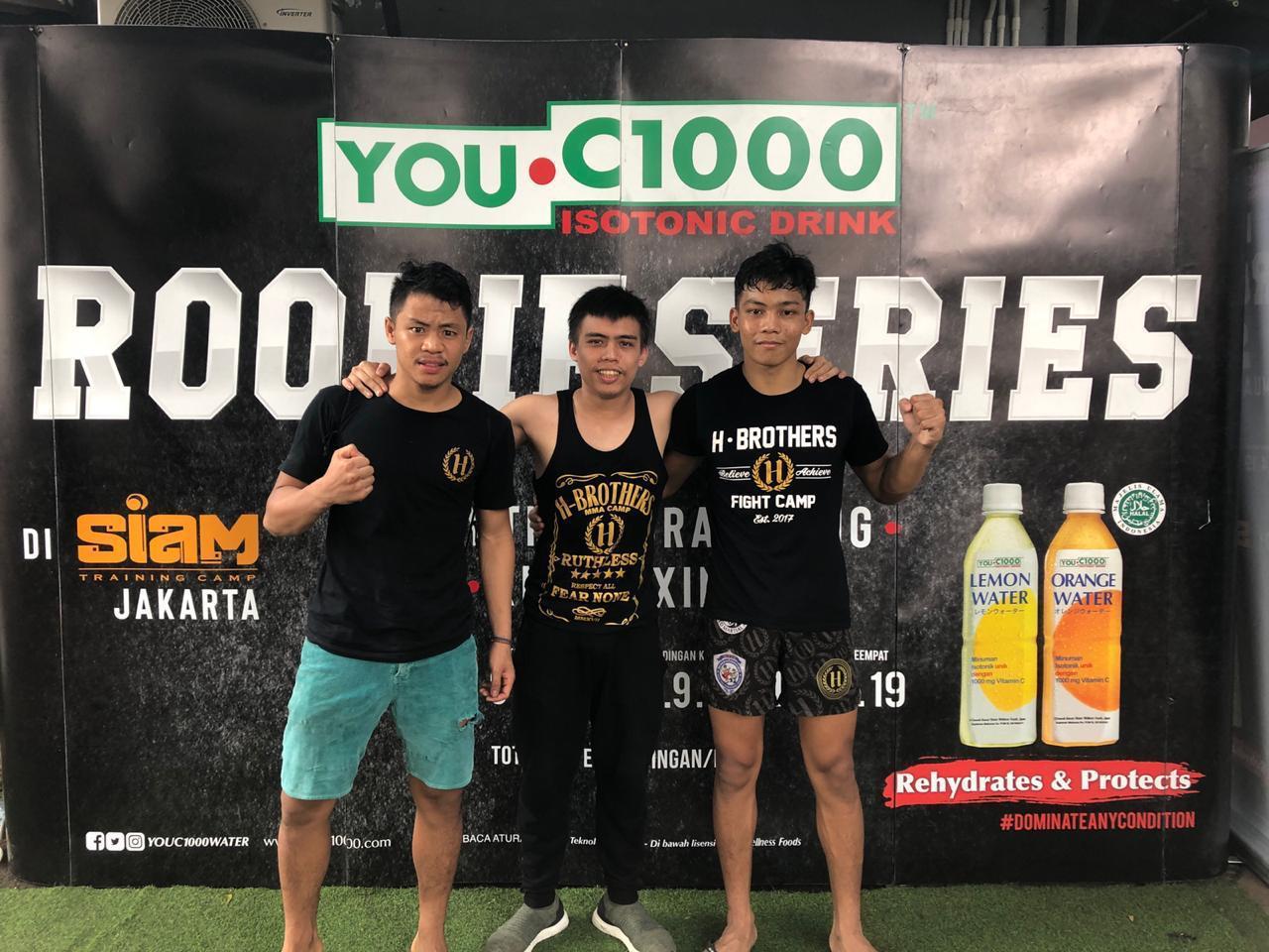 H Brothers Kembali Cetak Petarung Juara
