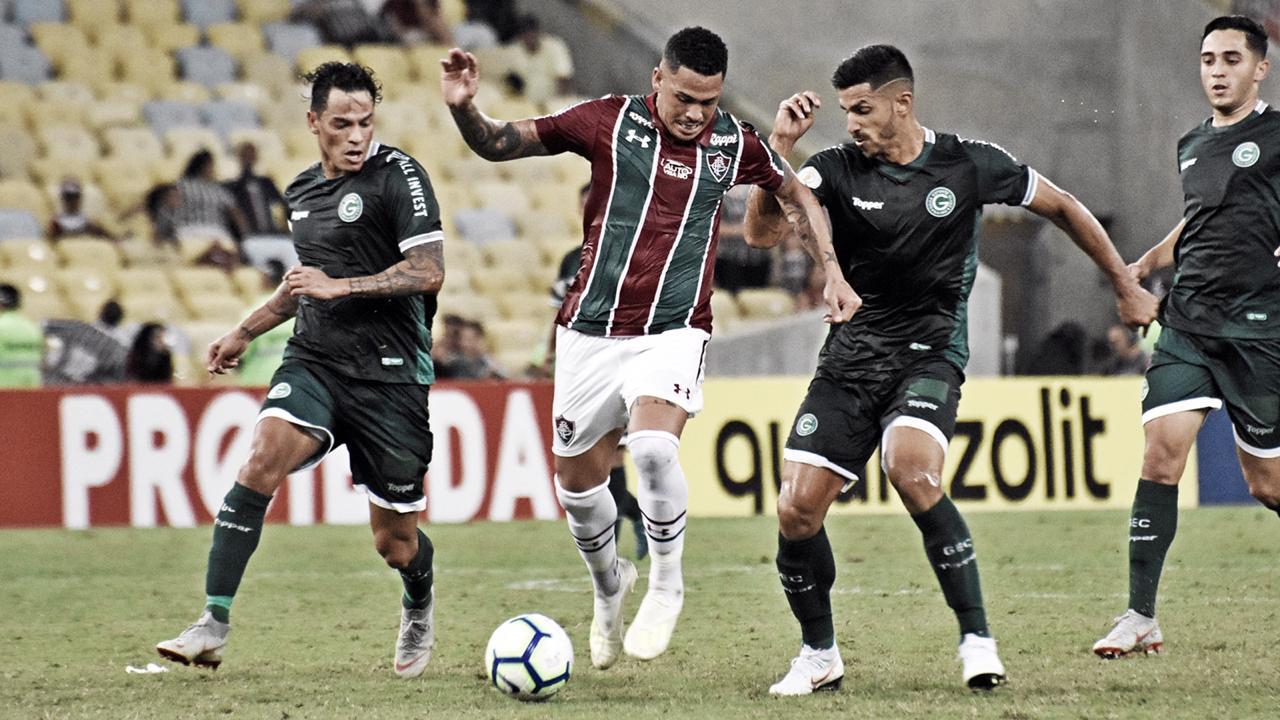 Com golno fim, Goiás vence Fluminense em pleno Maracanã na estreia do Brasileirão