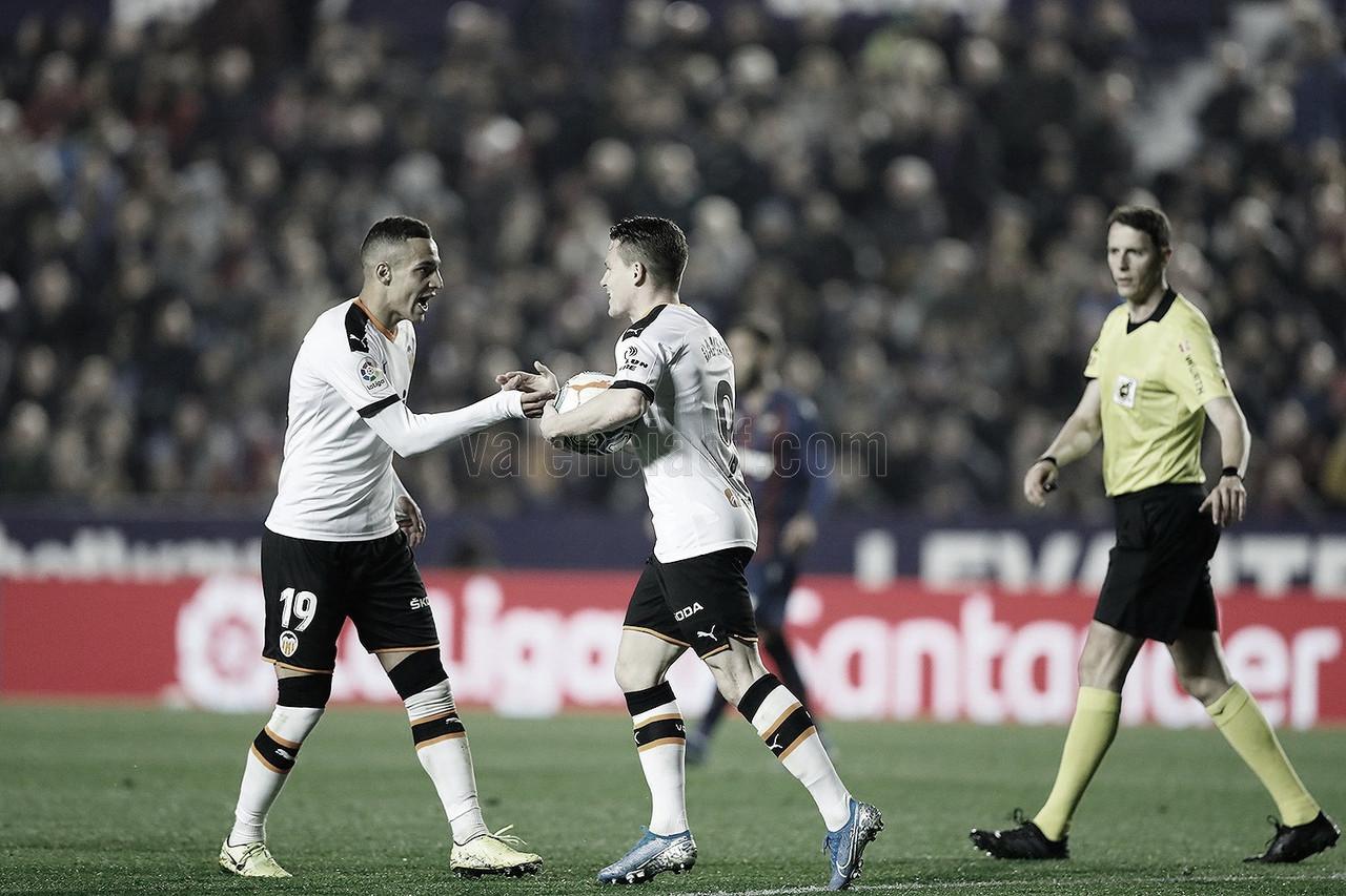 Los jugadores blanquinegros de la actual plantilla que le han marcado al Levante