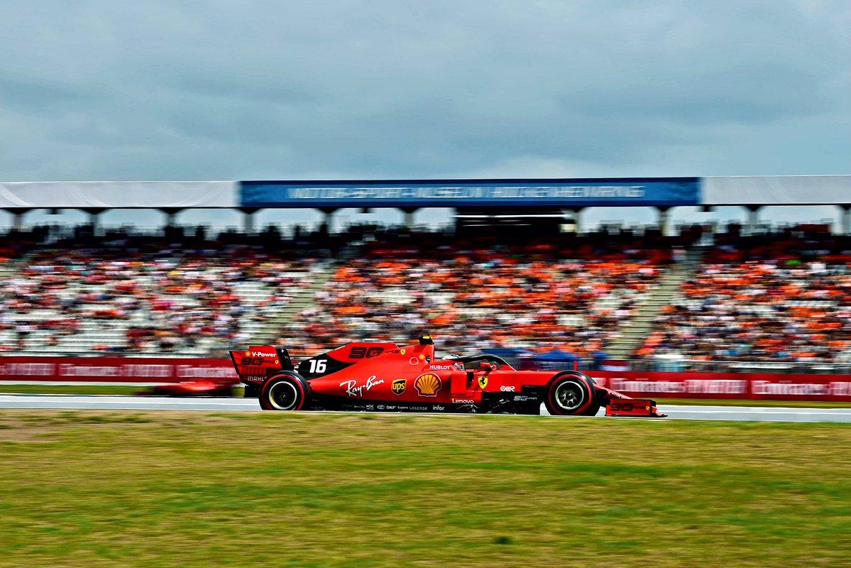 Formula 1, Gran Premio di Germania: Leclerc davanti a tutti nelle libere 3